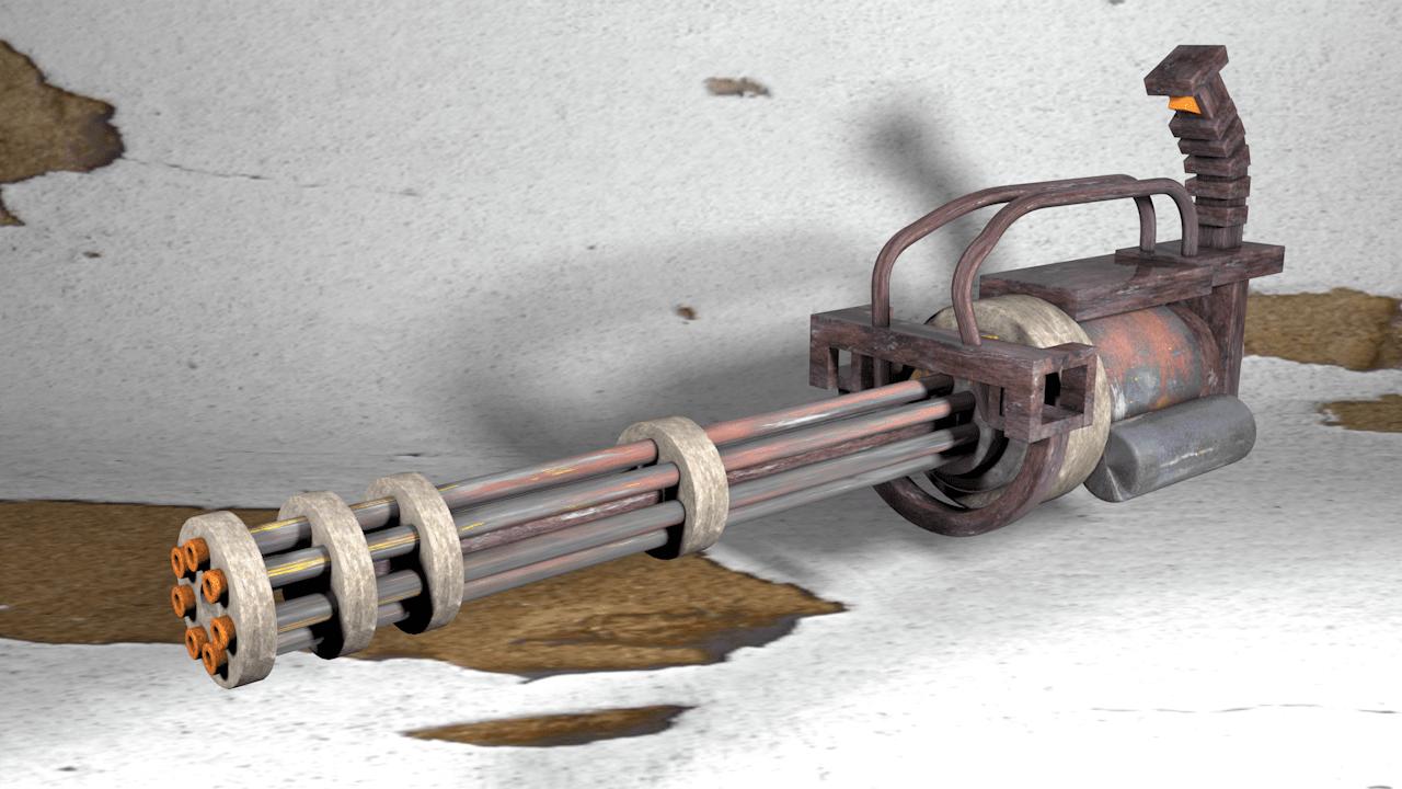 Пулемёт Гатлинга